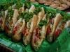 Banquetes: Los panes con gallina...