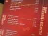 Café del Mar: Entradas, cremas y ceviches...