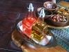 Plato - Aceite y Vinagre