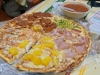 Pizza (con salsa)...