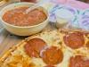 Salsa + pizza...