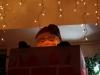 Santa à la Oscar The Grouch...