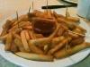 El platón de papas fritas...