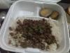 Arroz con Carne de Cerdo Molido en Salsa de Soya (Takeout)