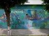 El graffiti (de frente)...