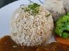 Más arroz integral...