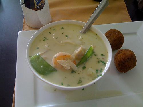 Sopa de Curry Verde