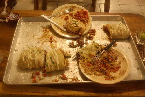 Burrito Super Andale - El desenlace :(