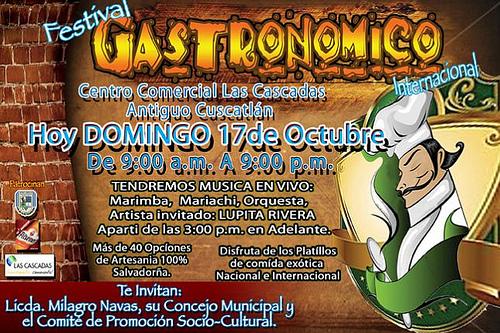 Festival Gastronómico de Antiguo Cuscatlán