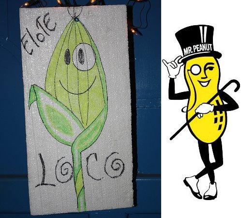 Elote Loco - Mr Peanut