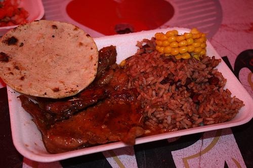 Lomo BBQ y Piña