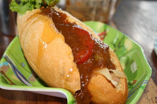 Pan de Gallina - Salsa