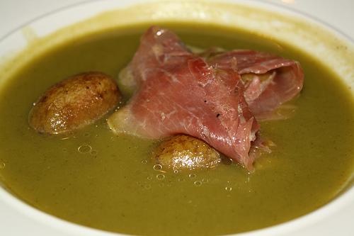 Sopa de Prosciutto