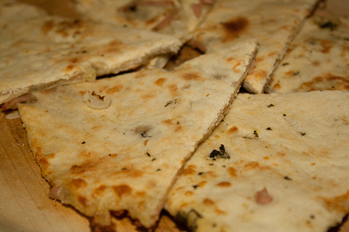 Focaccia - Close UP