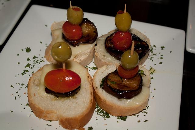 Tapa de Tomate y Berenjena