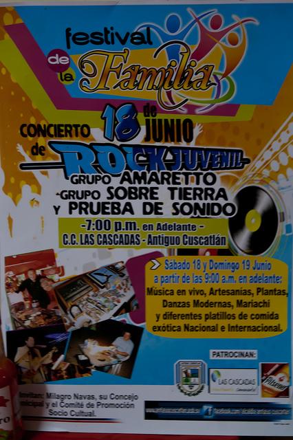 Invitación: Festival Rock Juvenil