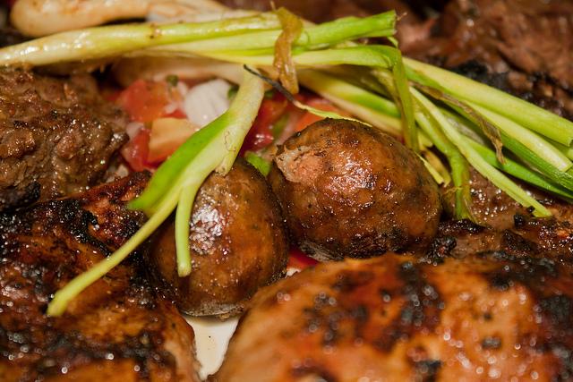 Plato de Bocas: Chorizos...