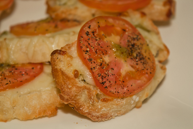 Bruschettas - Close-Up