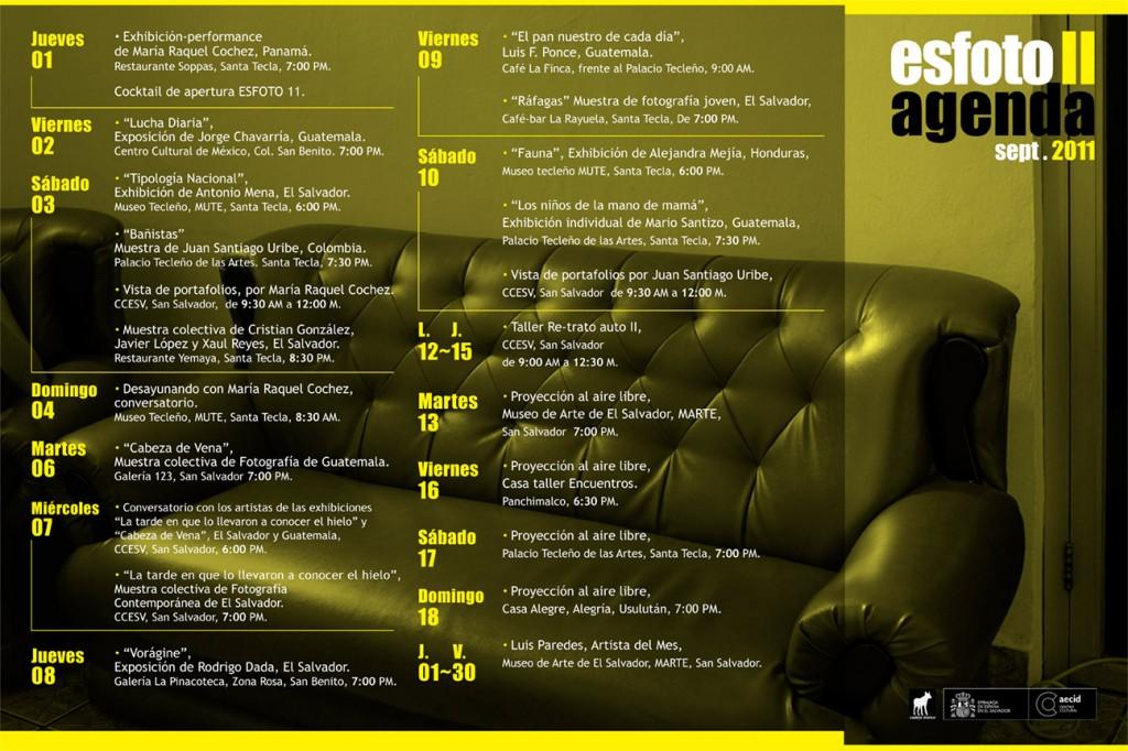 Agenda - ESFOTO 11