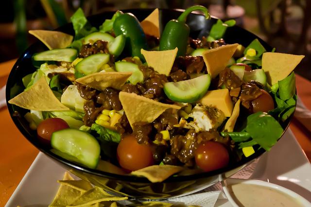 Taco Salad - Close UP