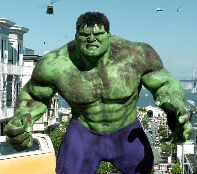 The Hulk aka Ensaladas de Ricky's