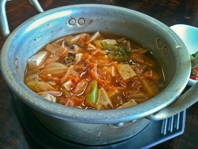 Sopa de Kimchi con Arroz